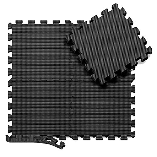 BeMaxx Schutzmatten Set Fitness – 18 Puzzlematten