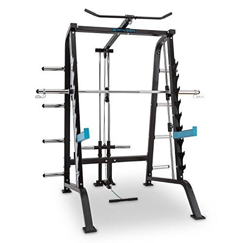 CAPITAL SPORTS Multipresse mit Gewichthalterung, Lat- und Kabelzug