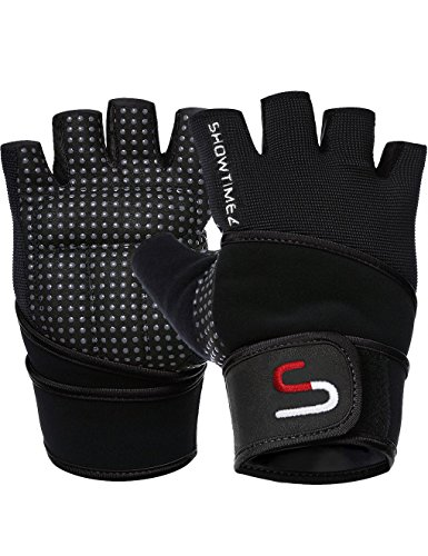 SHOWTIMEZ Trainingshandschuhe mit Handgelenkschutz