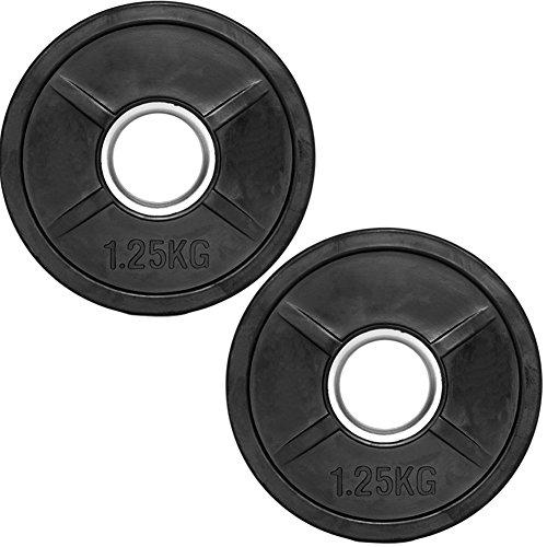 C.P.Sports Olympiascheiben gummiert 2x 1,25kg (2,5kg)
